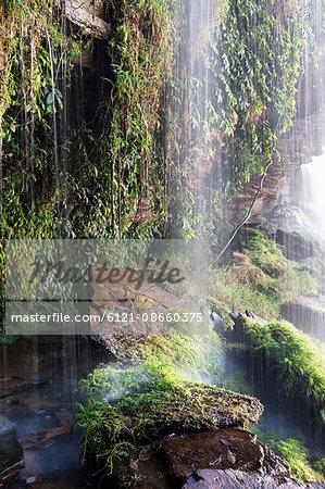 Waterfall, Canaima National Park, Bolivar State, Venezuela