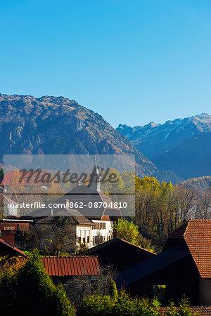 Europe, France, Haute Savoie, Rhone Alps, Sallanches, Passy