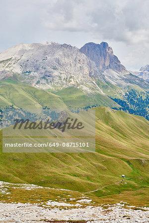 Scenic view of mountains, Austria