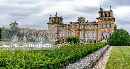 Europe, United Kingdom, England, Oxfordshire, Woodstock, Blenheim Palace