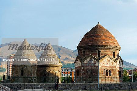 Turkey, Eastern Anatolia, Erzerum, Uc Kumbetler, Three Tombs