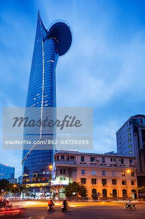 South East Asia, Vietnam, Ho Chi Mihn City (Saigon), Bitexco Financial Tower