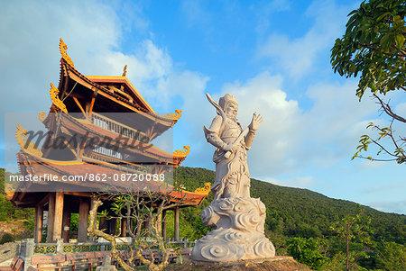 South East Asia, Vietnam, Phu Quoc island, Thien Vien Truc Lam Ho temple