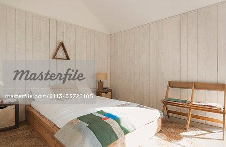 Simple bedroom home showcase