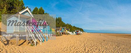 Wells-next-the-Sea Beach, North Norfolk, England, United Kingdom, Europe