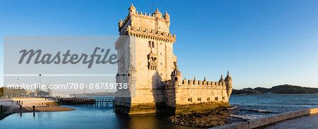 Torre de Belem on Tejo River in Lisbon, Portugal