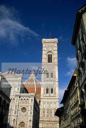 Duomo and Campanile, Florence, Tuscany, Italy