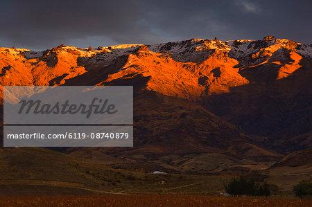 Pisa Range, Mount Pisa, Central Otago, South Island, New Zealand, Pacific