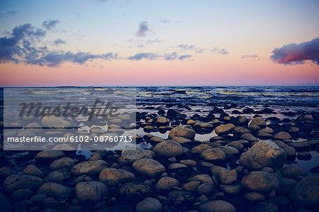 Seascape, Uppland, Sweden