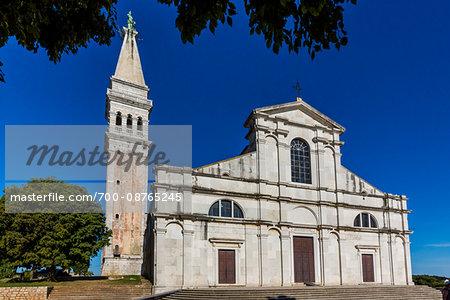 Church of St Euphemia in Rovinj, Istria, Croatia