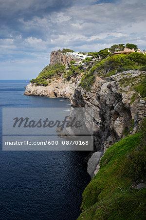 Coastal Region at Port de Soller, Mallorca, Spain