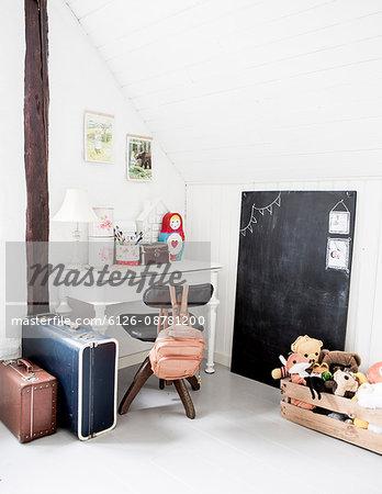 Sweden, Empty girl's room