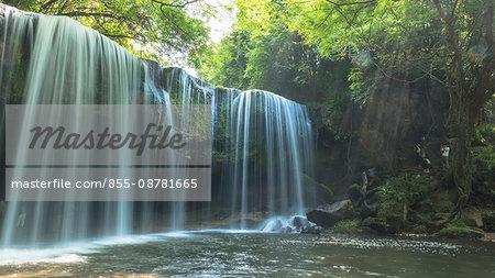 Nabegataki Falls, Oguni town, Kumamoto prefecture, Kyushu, Japan