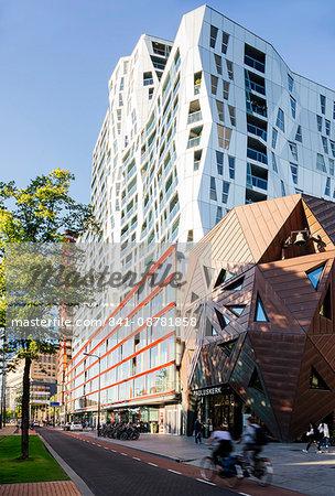 Exterior of Calypso Building, Kruisplein, Rotterdam, Netherlands, Europe