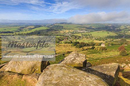 Curbar Edge, early autumn, Peak District National Park, Derbyshire, England, United Kingdom, Europe