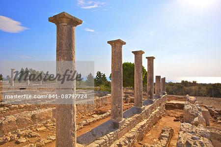 Sanctuary of Apollo Yiatis, Kourion, UNESCO World Heritage Site, Cyprus, Eastern Mediterranean, Europe