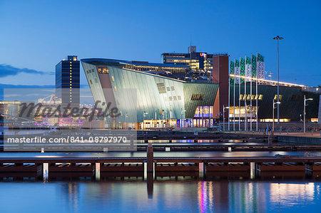 Science Centre NEMO in Oosterdok (East Dock), Amsterdam, Netherlands, Europe