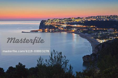 Peschici, Gargano, Foggia Province, Puglia, Italy, Mediterranean, Europe
