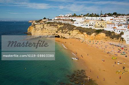 Carvoeiro Beach, Lagoa, Algarve, Portugal, Europe