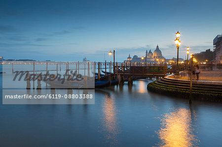 Basilica di Santa Maria della Salute on the Grand Canal, Venice, UNESCO World Heritage Site, Veneto, Italy, Europe