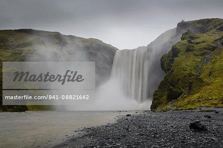 Skogafoss waterfall, Iceland, Polar Regions