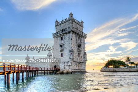 Belem Tower, Lisbon, Lisboa Region, Portugal