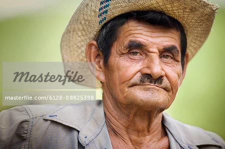 Portrait of a senior man.