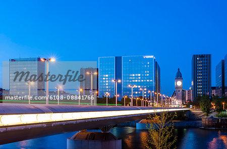 France, Paris, Charles-de-Gaulle bridge