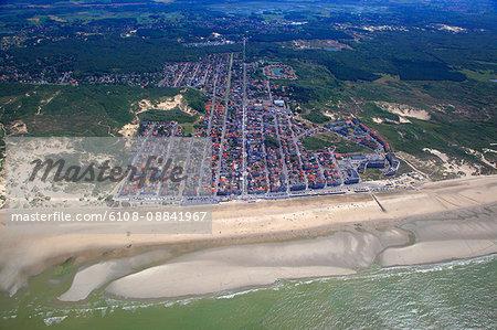 France, Northern France, Pas de Calais. Merlimont-Plage