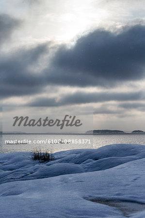 Kayaking at winter