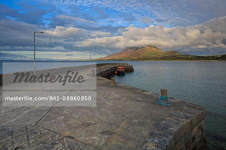 Old Head Pier, County Mayo, Connacht, Republic of Ireland, Europe