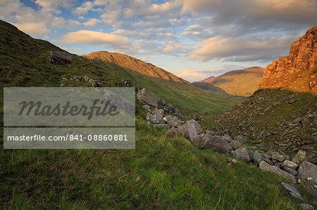 Ballaghbeama Gap, County Kerry, Munster, Republic of Ireland, Europe