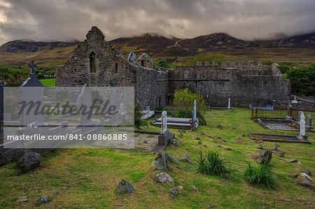 Murrisk Abbey, County Mayo, Connacht, Republic of Ireland, Europe