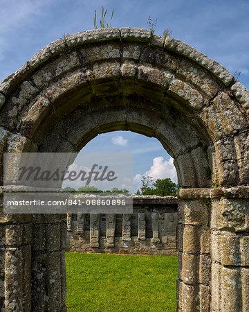 White Island, Lower Lough Erne, County Fermanagh, Ulster, Northern Ireland, United Kingdom, Europe