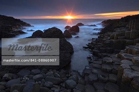 Giant's Causeway, UNESCO World Heritage Site, County Antrim, Ulster, Northern Ireland, United Kingdom, Europe