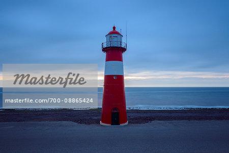 Noorderhoofd by North Sea, Westkapelle, Zeeland, Netherlands