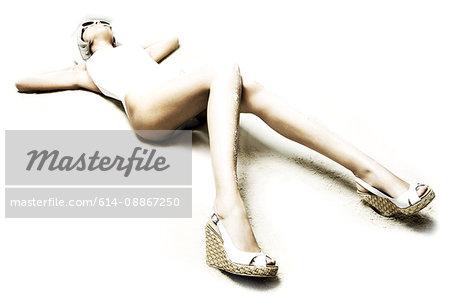 sexy woman's legs