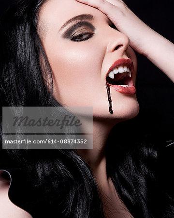 Young female vampire