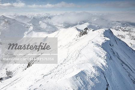 View of Schilthorn, Murren, Bernese Oberland, Switzerland