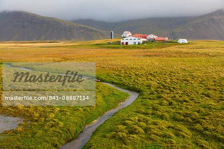 Farm near Hofn, Iceland, Polar Regions