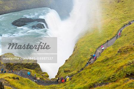 Gullfoss Waterfall, Iceland, Polar Regions