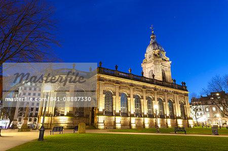St. Philip's, Birmingham Cathedral, Grade 1 listed building, Jewellery Quarter, Birmingham, England, United Kingdom, Europe