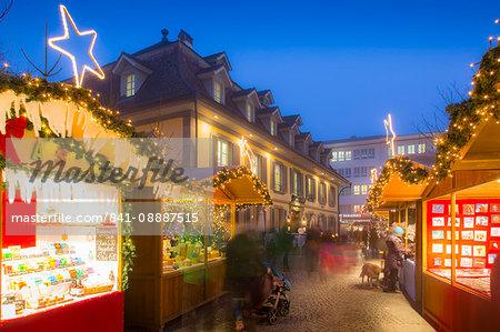 Christmas Market in Balliz, Thun, Jungfrau region, Bernese Oberland, Swiss Alps, Switzerland, Europe
