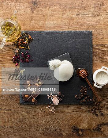 Cheese, Chocolate, Tea, Coffee, Milk, Salt, Honey