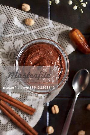 Vegan Chickpea Nutella