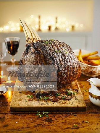 Rib of beef for Christmas