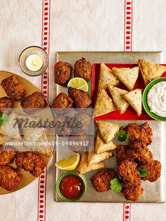 Spicy Snack Platter