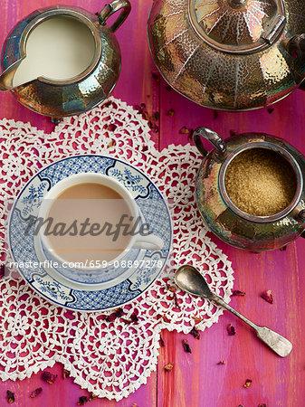 Indian summer tea