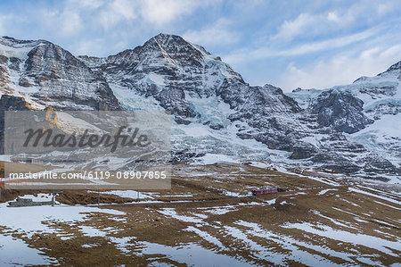 Kleine Scheidegg, Jungfrau region, Bernese Oberland, Swiss Alps, Switzerland, Europe