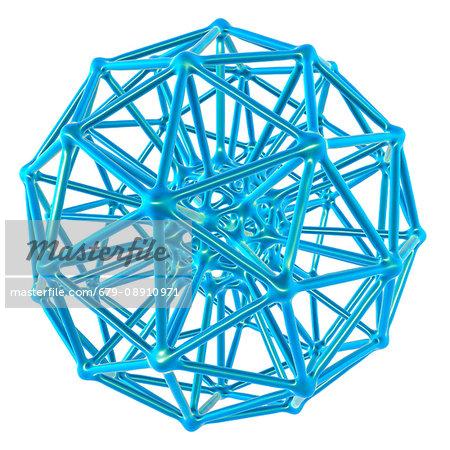 Nanoparticle, computer artwork.